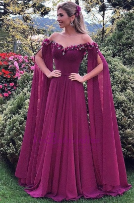 Gorgeous  Ruffles Evening Gowns | Long Sweetheart Formal Dresses_4
