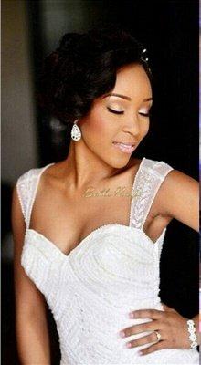 Charming Mermaid Wedding Dresses | Beaded Ruffles Skirt Bridal Gowns_2