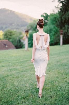 Sexy Sleeveless Sheath Scoop Bridesmaid Dresses_4