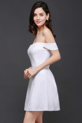 Special In-Stock Occasion New Off-Shoulder Women Short A-Line Evening Dresses_6