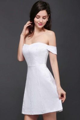Special In-Stock Occasion New Off-Shoulder Women Short A-Line Evening Dresses_7