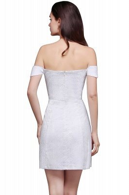 Special In-Stock Occasion New Off-Shoulder Women Short A-Line Evening Dresses_8