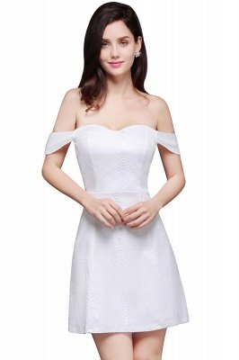 Special In-Stock Occasion New Off-Shoulder Women Short A-Line Evening Dresses_4
