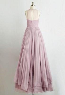 Jewel Tiered Chic Sleeveless A-Line Prom Dresses_3