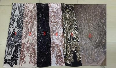 Sleeveless Open Back Sequins Prom Dresses | Spaghetti Straps Mermaid Champagne Evening Dress_4