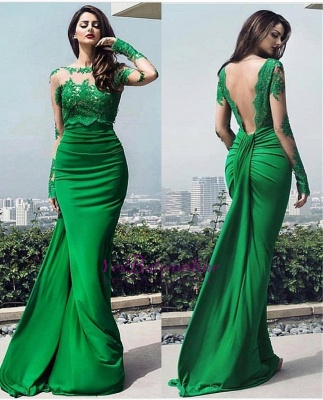 dresses long prom chic Elegant lace prom dresses_1