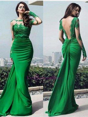 dresses long prom chic Elegant lace prom dresses_2