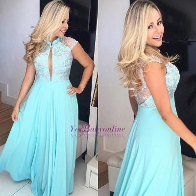Elegant Sleeveless Floor-Length Prom Dresses_1