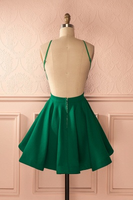 Chic New Arrival A-line Green Short Homecoming Dress BC2607_3