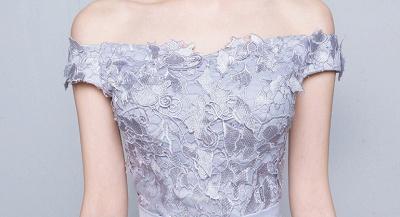 Off-the-Shoulder Floor-Length Lace-Appliques Lace-Up-Back A-line Prom Dresses_4