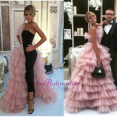 Mermaid  Long Designer Layer Glamorous Evening Dress_3