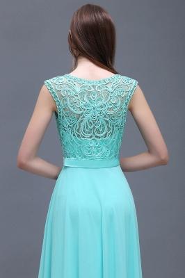 A-Line Lace-Appliques Chiffon Scoop Glamorous prom dresses_5