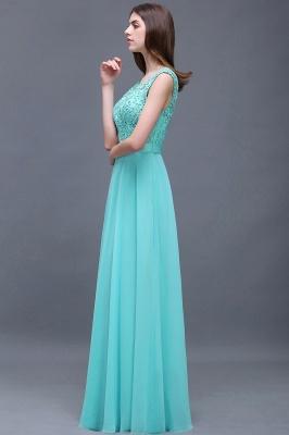 A-Line Lace-Appliques Chiffon Scoop Glamorous prom dresses_6