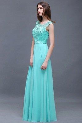 A-Line Lace-Appliques Chiffon Scoop Glamorous prom dresses_4