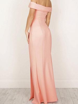 Long Elegant Side-Slit Sheath Off-The-Shoulder Prom Dresses_4