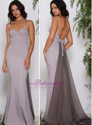 Long Sweetheart Chiffon Sleeveless Evening Dresses_1