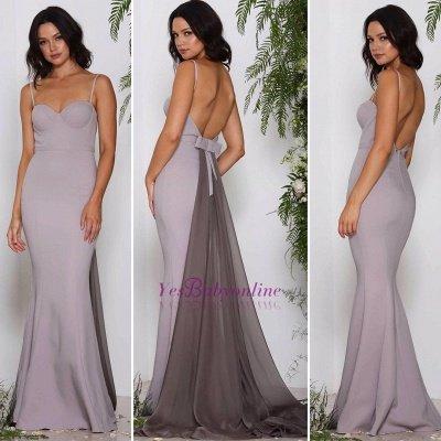 Long Sweetheart Chiffon Sleeveless Evening Dresses_3