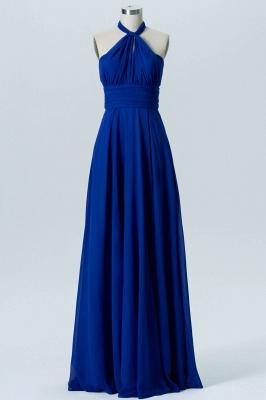 A Line Chiffon Multi Styles Floor Length Bridesmaid Dresses with Ruffles_3