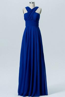 A Line Chiffon Multi Styles Floor Length Bridesmaid Dresses with Ruffles_6