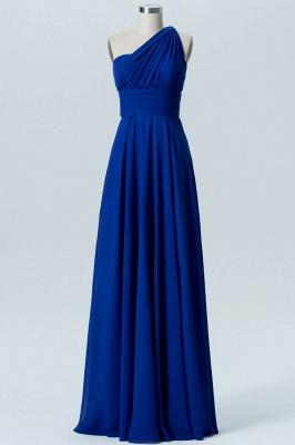 A Line Chiffon Multi Styles Floor Length Bridesmaid Dresses with Ruffles_5
