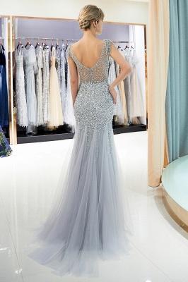 Mermaid Crew Neck Beaded Prom Dress With Tassels | Evening Dress 2019_6