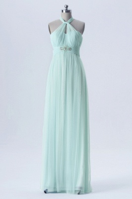A Line Chiffon Multi Styles Floor Length Bridesmaid Dresses with Beading_5