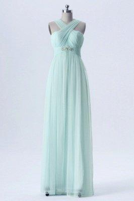A Line Chiffon Multi Styles Floor Length Bridesmaid Dresses with Beading_4