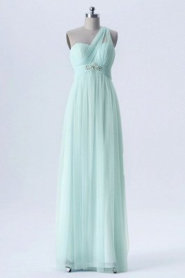 A Line Chiffon Multi Styles Floor Length Bridesmaid Dresses with Beading_6