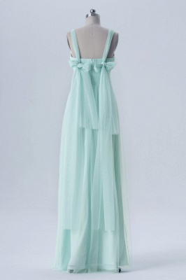 A Line Chiffon Multi Styles Floor Length Bridesmaid Dresses with Beading_8