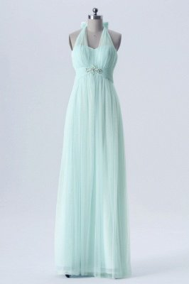 A Line Chiffon Multi Styles Floor Length Bridesmaid Dresses with Beading_3