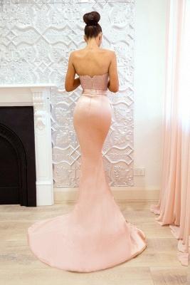 Chic V-Neck Bridesmaid Dresses | Sleeveless Mermaid Wedding Party Dresses_5
