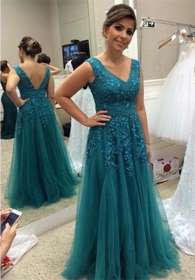 Elegant A-line Long Sleeves Sleeveless Long Lace Mother of Bride Dresses_1