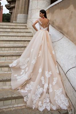 Gorgeous Off The Shoulder Lace Column Wedding Dress With Detachable Skirt_2