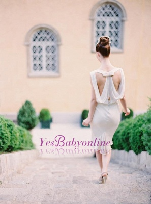 Sexy Sleeveless Sheath Scoop Bridesmaid Dresses_1