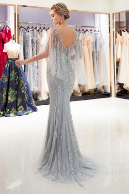 Sexy Mermaid  Sequins Beading Sweetheart Prom Dress | 2019 Evening Dresses_4