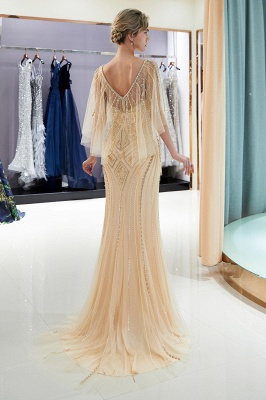 Sexy Mermaid  Sequins Beading Sweetheart Prom Dress   2019 Evening Dresses_6