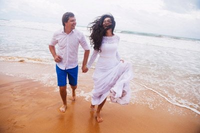 Mermaid Glamorous Fill-Lace Open-Back Long Sleeves Wedding Dress_5