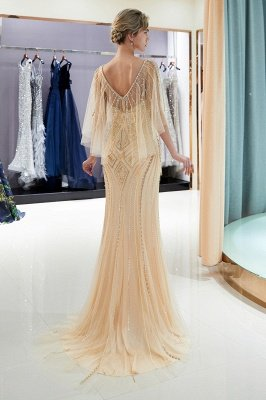 Sexy Mermaid  Sequins Beading Sweetheart Prom Dress | 2019 Evening Dresses_6