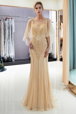 Sexy Mermaid  Sequins Beading Sweetheart Prom Dress   2019 Evening Dresses_5