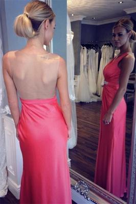 Sexy V-neck Back Evening Dresses | Sheer  Sleeveless Prom Dresses_4