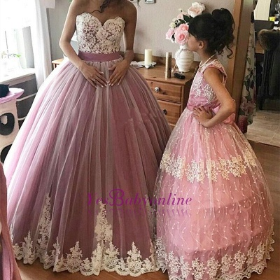 Dresses Ball Prom Sweetheart Sleeveless pink Long Gown Evening Dresses_1