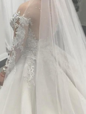 Elegant Mermaid Wedding Dresses with Tulle Overskirt | Sexy Lace Bridal Gowns with Train_4