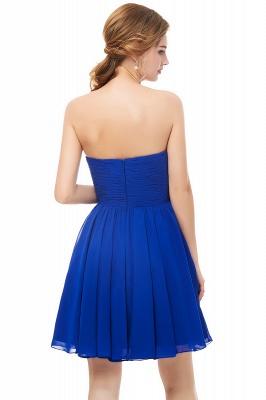 Royal-Blue Summer Sweetheart-Neck Short Cocktail Dresses_3