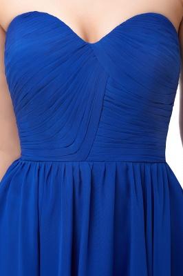 Royal-Blue Summer Sweetheart-Neck Short Cocktail Dresses_5