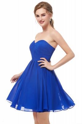 Royal-Blue Summer Sweetheart-Neck Short Cocktail Dresses_4
