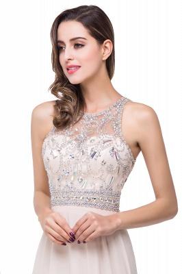 A-Line New Scoop Floor-Length Crystal Sleeveless Prom Dress_4
