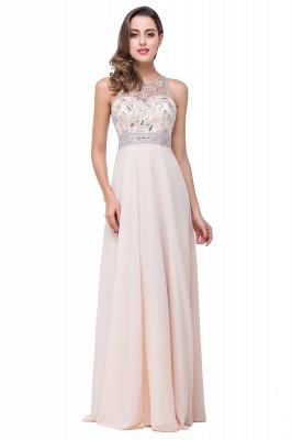 A-Line New Scoop Floor-Length Crystal Sleeveless Prom Dress_2