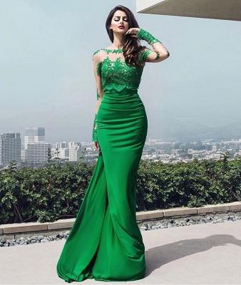 dresses long prom chic Elegant lace prom dresses_3