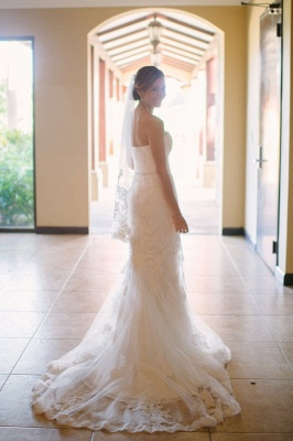 Spaghetti Straps Sheath Floor Length Beach Wedding Dresses | Destination Bridal Dresses_3