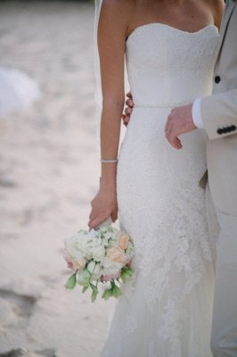 Spaghetti Straps Sheath Floor Length Beach Wedding Dresses | Destination Bridal Dresses_4